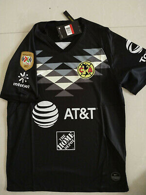 2019-2020 Club America Goalkeeper Soccer Jersey And A18 LIGA MX CAMPEON Patch  • 17.99$