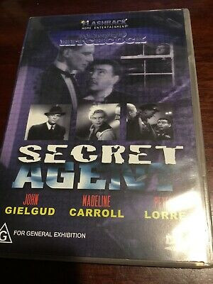 $ CDN5.08 • Buy SECRET AGENT John Gielgud Madeline Carroll New Sealed B/W DVD R All