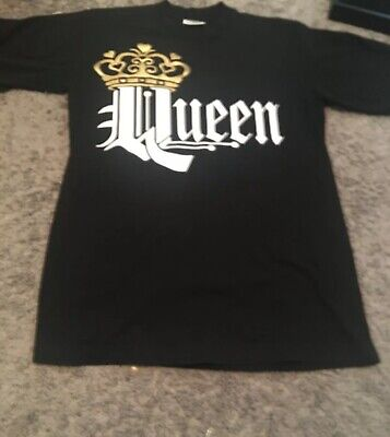 $9.95 • Buy Queen Black Crown T Shirt Medium M