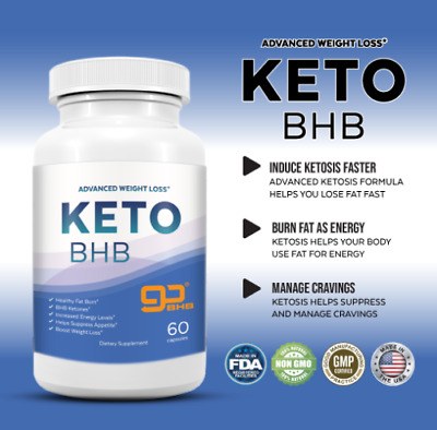 $13.99 • Buy Shark Tank Keto Diet Pills Fast Fat Burn - GO BHB Ketones - Advanced Weight Loss