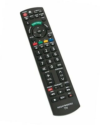 AU14.98 • Buy N2QAYB000352 Remote Control For Panasonic Plasma TVs TH-P50G10A TH-P50S10A