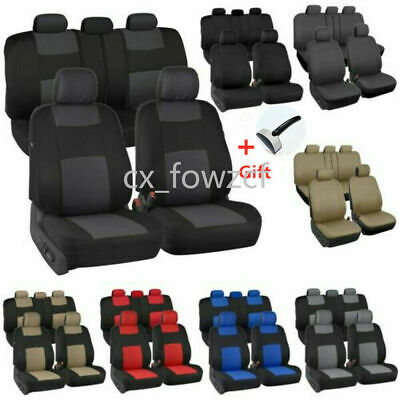 $23.09 • Buy 10PCS Auto Seat Covers For Car Truck SUV Van - Universal Protectors Polyester