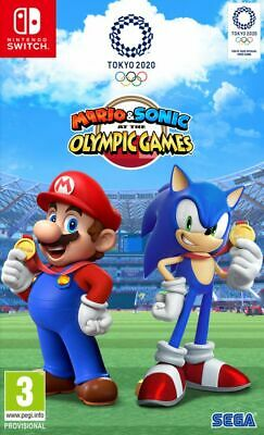 Mario & Sonic At The Tokyo 2020 Olympic Games (Switch) Free UK P&P Brand New • 44.99£