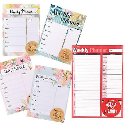 £1.79 • Buy Home / Office - A4 Weekly Planner - To Do List/Meal Planner/Shopping/Note Pad