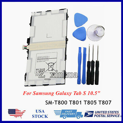 $15.40 • Buy NEW Battery EB-BT800FBE For Samsung Galaxy Tab S 10.5  SM-T800 T801 SM-T805