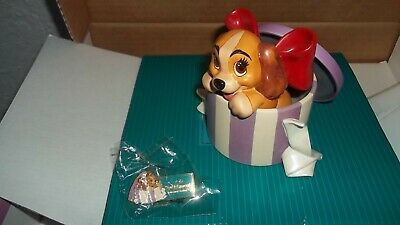 Walt Disney Classic Collection Figurine Lady And The Tramp, New • 89.99£