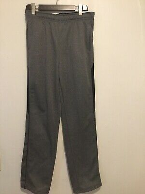 $19.50 • Buy NWT Tek Gear Pants Easy Fit Straight Fit Youth Boys XL(18/20) Gray/ Black