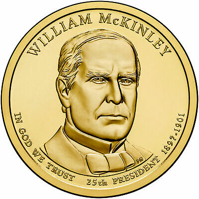 $3.99 • Buy 2013 D William McKinley Presidential Dollar Brilliant Uncirculated Coin US