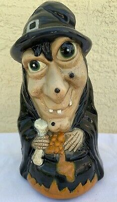 $ CDN37.89 • Buy Vintage Halloween Witch Blow Mold 2001 Dynagood Plastic Figure Monster Display