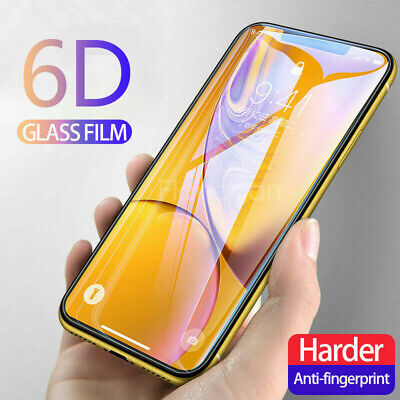 AU4.44 • Buy Smart Cellphones 6D Curved Full Cover Real Tempered Glass Screen Protector Film