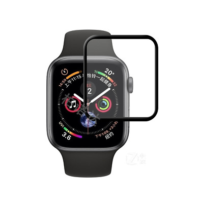 $ CDN8.63 • Buy FULL SCREEN CURVED TEMPERED GLASS PROTECTOR For Apple Watch Series 5