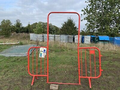 Pedestrian Access Walk Through Gate Barrier, Crowd Control Red Site Gate Barrier • 40£
