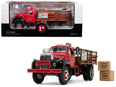 $79.95 • Buy Mack B-61 Stake Bed Truck W/ Two Kraft Boxes 1:34 Model - First Gear 10-4171*