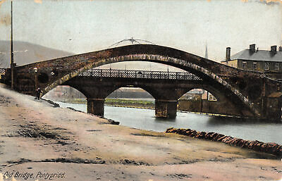 R194035 Old Bridge. Pontypridd. No. 21132. B. And Ds Kromo Series • 4.73£