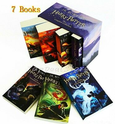 AU72.55 • Buy Harry Potter 7 Books Box Set The Complete Collection  J.K Rowling 7 Books New