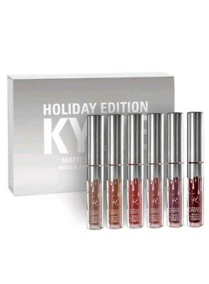 AU28.50 • Buy Kylie Jenner Holiday Edition 6pc Full Size Matte Liquid Lipstick
