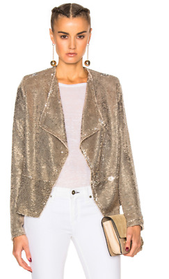 $ CDN363.89 • Buy IRO Chill Sequin Drape Blazer Size 36