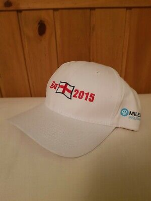 England Cricket Cap Barmy Army 2015 Adjustable Strap White 2015 Ashes Cap • 8.95£