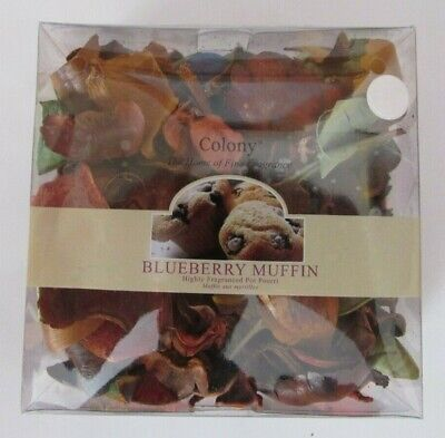 Colony Wax Lyrical Blueberry Muffin Pot Pourri Fragrance Scent + Refresher Oil • 5.99£