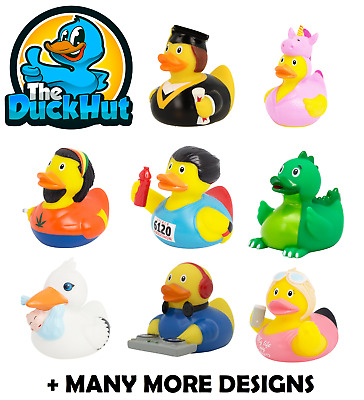 RUBBER DUCKS - NOVELTY - GIFT - The Duck Hut - Lilalu - OVER 200 TO COLLECT - 2 • 6.99£