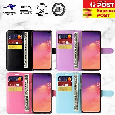 AU8.49 • Buy OPPO A57 A73 AX5 AX7 PU Leather Wallet Flip Phone Case