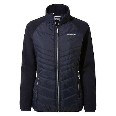 £34.99 • Buy Craghoppers Womens Maddalena Hybrid Jacket SCWN018 Navy And Wildberry