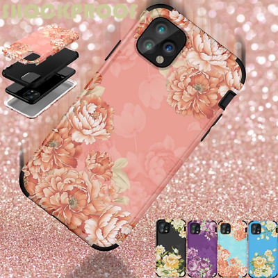 AU10.80 • Buy Luxury Penny Rose Case 3 In 1 Hybrid Phone Cover For IPhone 11 Pro Max XS XR 8 7