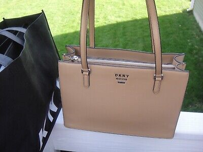 £104.55 • Buy New DKNY Whitney Tan Large  Center Zip Tote / Shoulder Bag.$248.00.100%Authentic