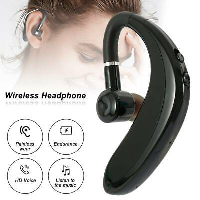 $10.99 • Buy Bluetooth 5.0 Ear Hook Earphone Stereo Bass Headphone Wireless Sport Headset Mic