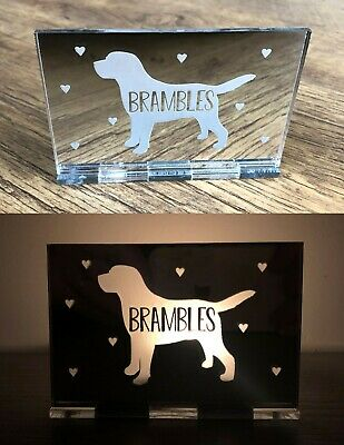 Personalised Dog Puppy Cat Pet Memorial 1st Christmas Candle Decoration Gifts • 6.95£