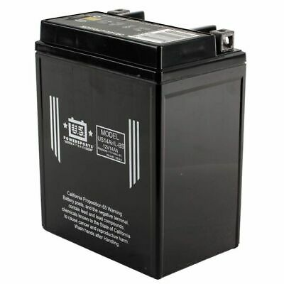 AU87 • Buy US Powersports US14AHL-BS - AGM Motorcycle Battery - YB14L-A2