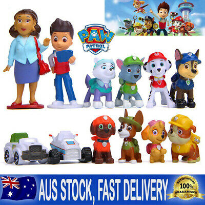 AU14.24 • Buy 12pc Paw Patrol Dog Puppy Rescue Figure Action Toys Figurine Character Gifts Set