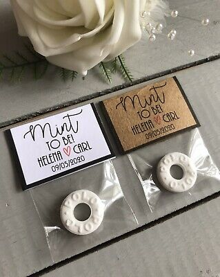 £1 • Buy Wedding Favours Mint To Be DIY Kit
