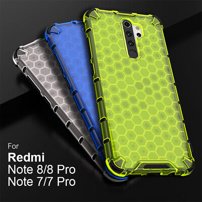 $8.98 • Buy For Xiaomi Redmi Note 9S 8 7 Pro Clear Shockproof Soft Hybrid Armor Case Cover