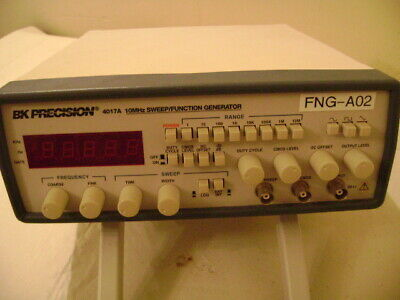 B+K Precision 4017A 10 MHz Digital Sweep Function Generator Tested And Working • 168$