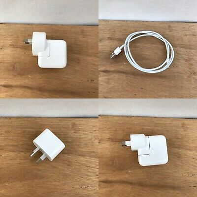 AU19.99 • Buy Genuine Apple IPhone Lightning Cable & Or Usb Power Adapter Charger Base 6 7 8 X