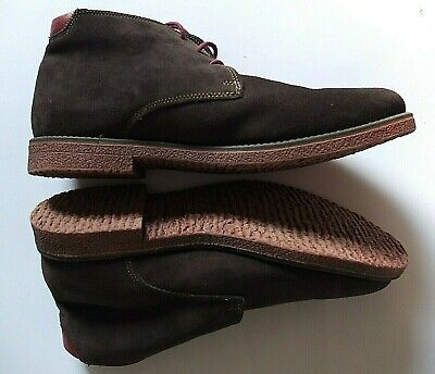 PAVERS - Mens Suede And Leather Trim Lace-up Brown Boot.Size 10.5 EU 45 • 33.99£