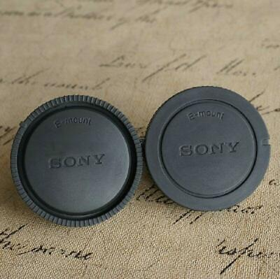 $ CDN6.05 • Buy 2pcs/Set Rear Lens Cap Cover For Sony E-mount NEX3/5/6/7 A6000 A7 A7R A7II A7SF