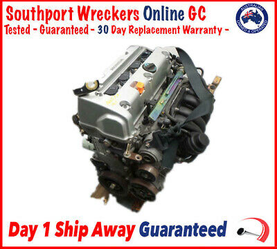 AU915 • Buy Honda CRV Engine Motor K24A1 2.4L Petrol 01-07 | 207 000 Ks | 60d Warranty