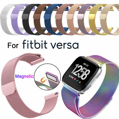 $ CDN11.99 • Buy Milanese Stainless Steel Loop Mesh Wrist Watch Band For Fitbit Versa /2/lite
