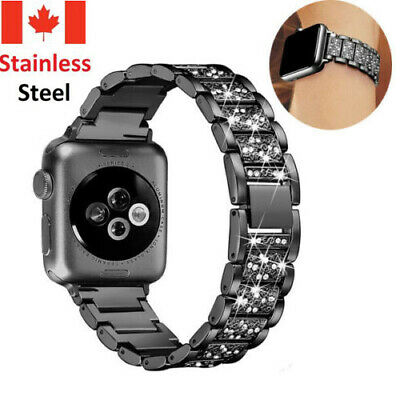$ CDN11.99 • Buy 2019 New Stainless Steel Bracelet Band Strap For Apple Watch Series 5 40MM 44MM