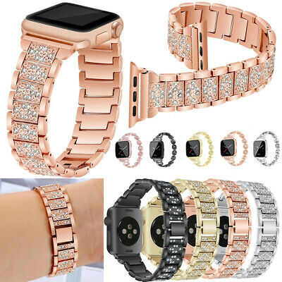 $ CDN11.99 • Buy Stainless Steel Bracelet IWatch Band Strap For Apple Watch Series 5 4 3 2 1