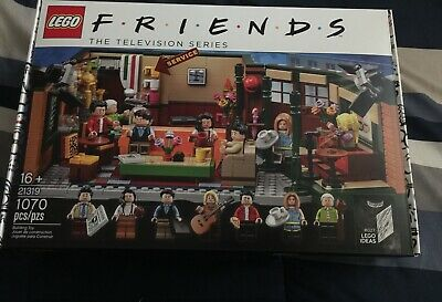 $109.99 • Buy New Sealed LEGO: Friends Central Perk Set 21319 Rare SOLD OUT
