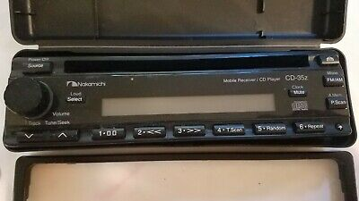 $375 • Buy Nakamichi Detachable Faceplate Receiver/ Cd Player CD-35z , Case, Mount, Wiring