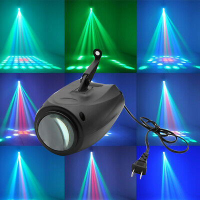 Music Active RGBW LED Colorful Lights Laser Stage Effect Lighting Club Disco DJ • 20.69$