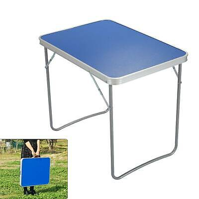 Portable Adjustable Aluminum Alloy Folding Table Camping Outdoor Picnic BBQ • 16.99£