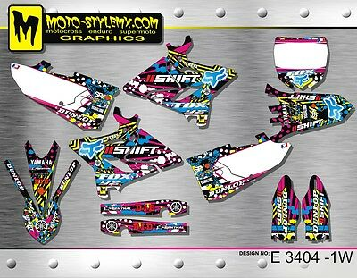 AU169.90 • Buy Yamaha YZ 125 250 2015 Up To 2018 Decals Graphics Kit Stickers MotoStyleMX