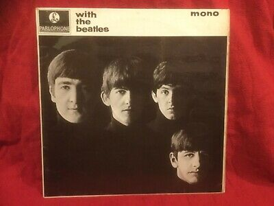 £90 • Buy BEATLES - WITH THE BEATLES - 1963 UK PARLOPHONE PMC1206 2nd PRESSING
