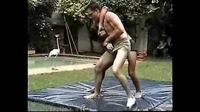 Wrestling Video Dvd Submission Pro LETSWRESTLE Rare Match  Men Trunks Mat Tights • 19$