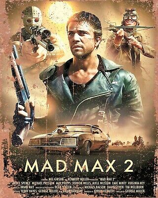 £6.99 • Buy Mad Max 2 Mel Gibson Metal Film Poster Plaque Aluminium Sign Others Listed 1105